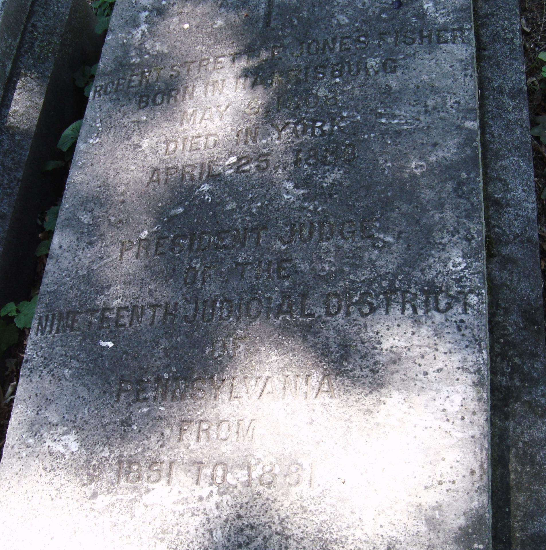 Robert Strettle Jones Fisher