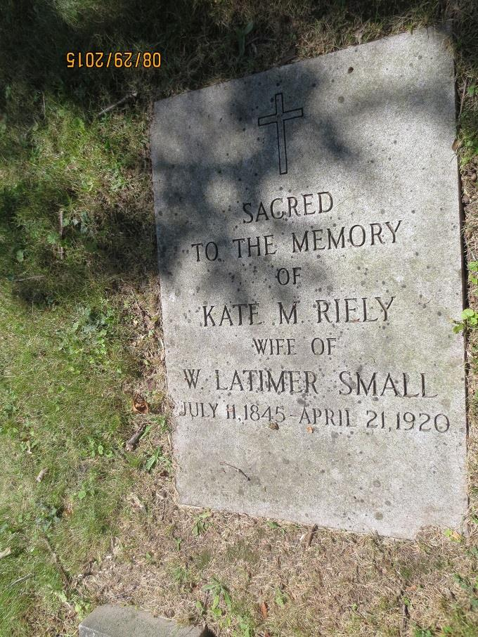 "Catherine M. ""Kate"" Riely Small"