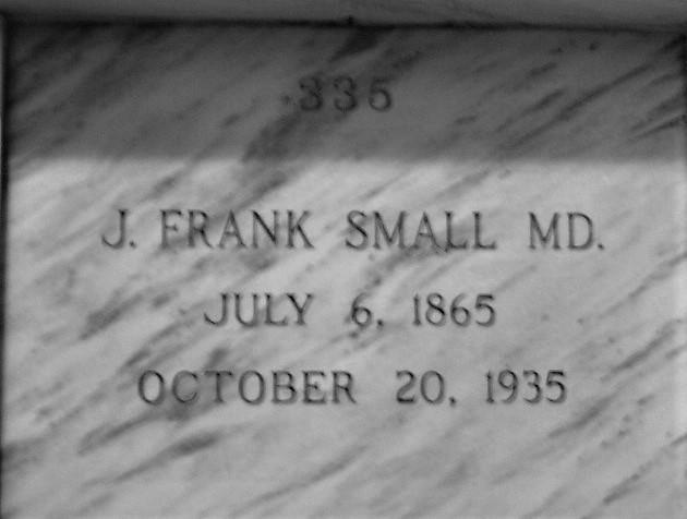 J. Frank Small, M.D.