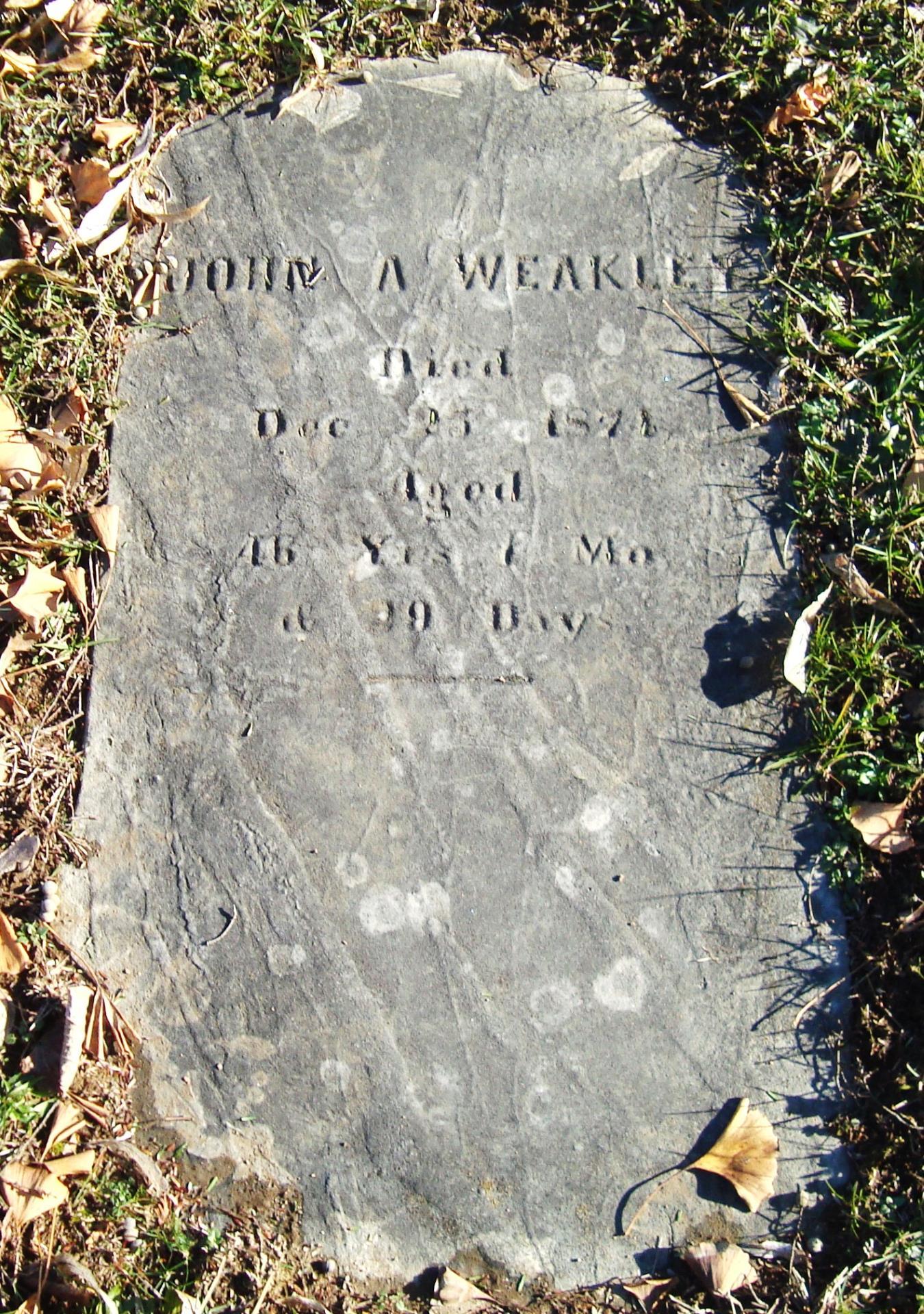 John A. Weakley