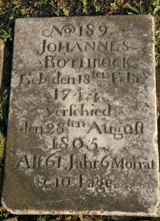 "Johannes ""John"" Rothrock"